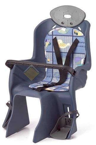 Детское кресло  на багажник с поручнем
